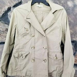 CAbi Sm Military Safari Style Jacket Blazer